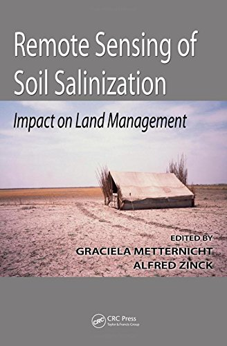 Remote sensing of soil salinizat